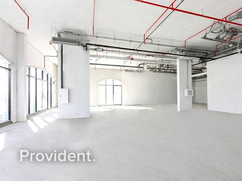 2 Luxury Lifestyle Retails for Rent - Shell and Core