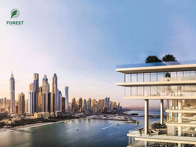15 Full Sea View | 4BR Simplex  | Waterfront Living