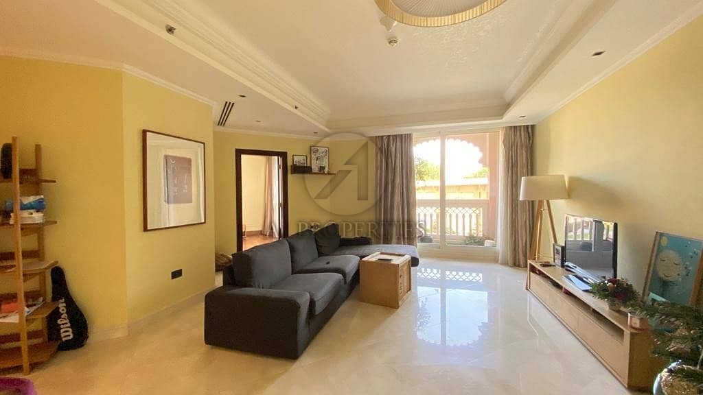 2 Unfurnished 1BED+Storege room | Cleaning Service | Private Beach