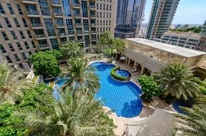Elegant 1 bed | Pool View | Stand point A