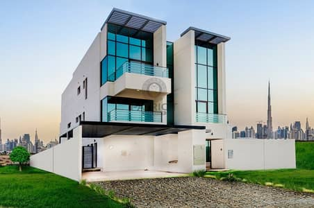 6 Bedroom Villa for Sale in Mohammed Bin Rashid City, Dubai - Stand alone villa in Dubai with Elevator and External driver room