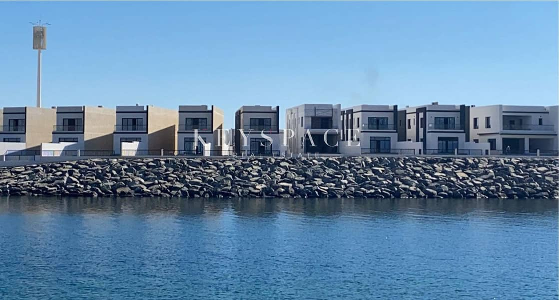 2 Independent Waterfront Villa|Flexible Payment Plan|10% Down Payment