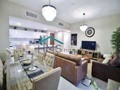 شقة في الأندلس عقارات جميرا للجولف 2 غرف 1200000 درهم - 4972035