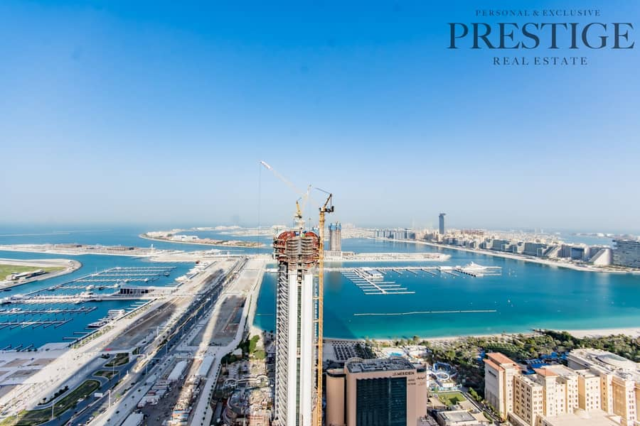 53 Large 2 Bedroom | High Floor | Full Sea View | Fully Upgraded