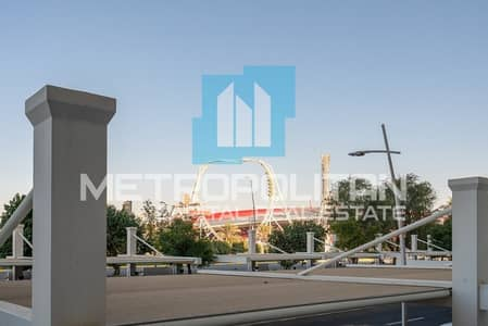 2 Bedroom Flat for Rent in Yas Island, Abu Dhabi - Ferrari World View| Big Balcony | Great Facilities