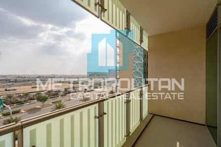 فلیٹ 3 غرف نوم للايجار في شاطئ الراحة، أبوظبي - 6 Payments| Balcony| Beach Access| Great Community