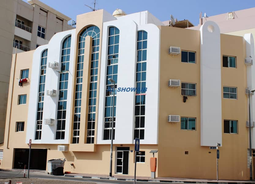 Spacious 2  BHK opp Welcome hotel Apt Al Hamriya