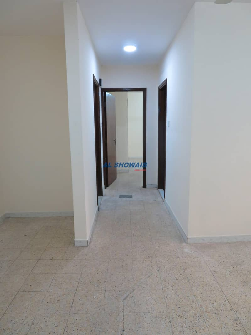 2 Spacious 2  BHK opp Welcome hotel Apt Al Hamriya