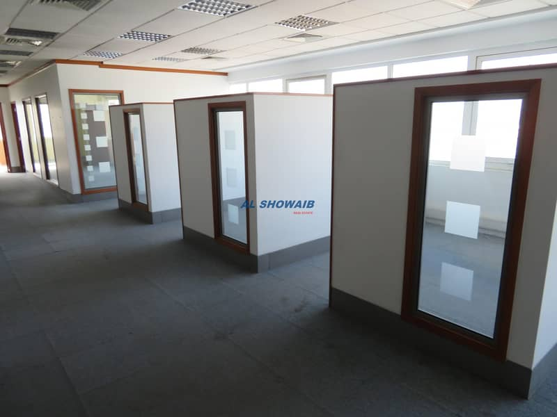 5 Cheapest 1400 Sq-ft office space  near Noor bank metro station Al Quoz 1