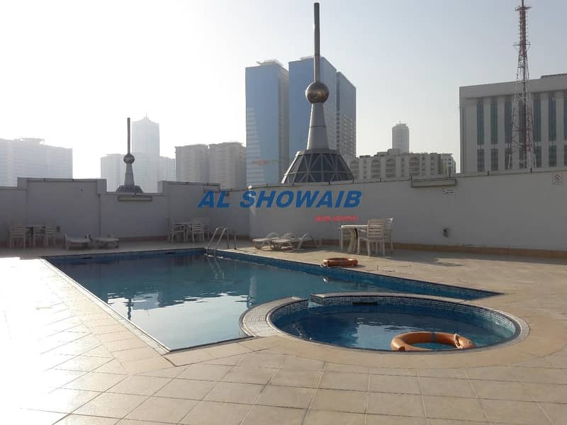 12 2 BHK WITH POOL & GYM IN CARREFOUR TOWER AL NAHDA 2