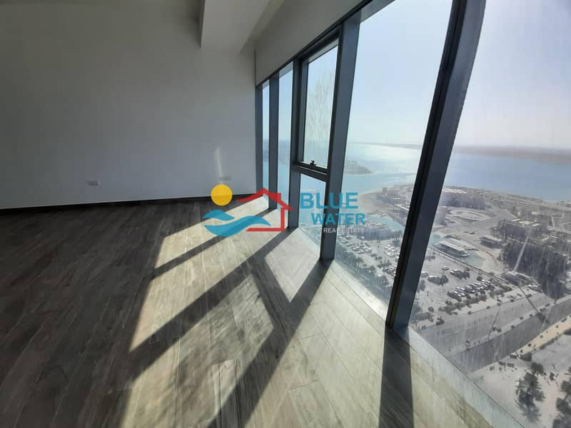 2 Brand New Sea View 2 M/BR Maid Room All Facilities