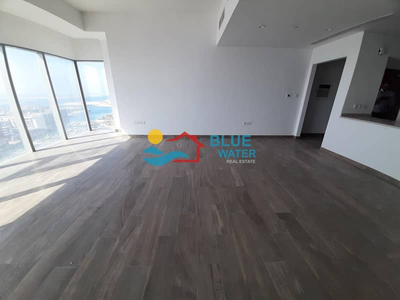 16 Brand New Sea View 2 M/BR Maid Room All Facilities