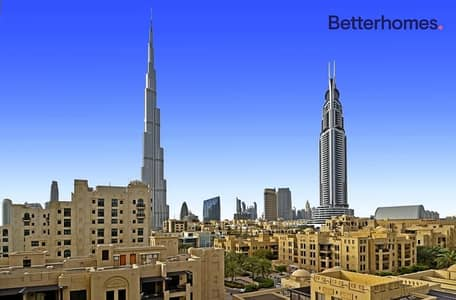 Burj Khalifa & Old Town View |Well Maintained
