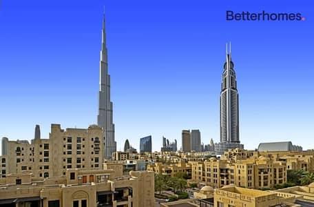 فلیٹ 2 غرفة نوم للبيع في المدينة القديمة، دبي - Burj Khalifa & Old Town View |Well Maintained