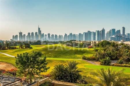 فیلا 6 غرف نوم للايجار في تلال الإمارات، دبي - Luxury villa 6 bed // outstanding  golf course view