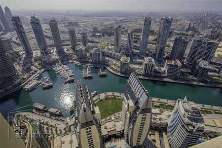 2 Bedroom Penthouse for Sale in Jumeirah Beach Residence (JBR), Dubai - 2 Bed | Full Marina View | Duplex Penthouse | 2 Parking Spaces