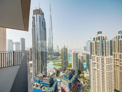 Square Layout | Burj Khalifa view  | Rented