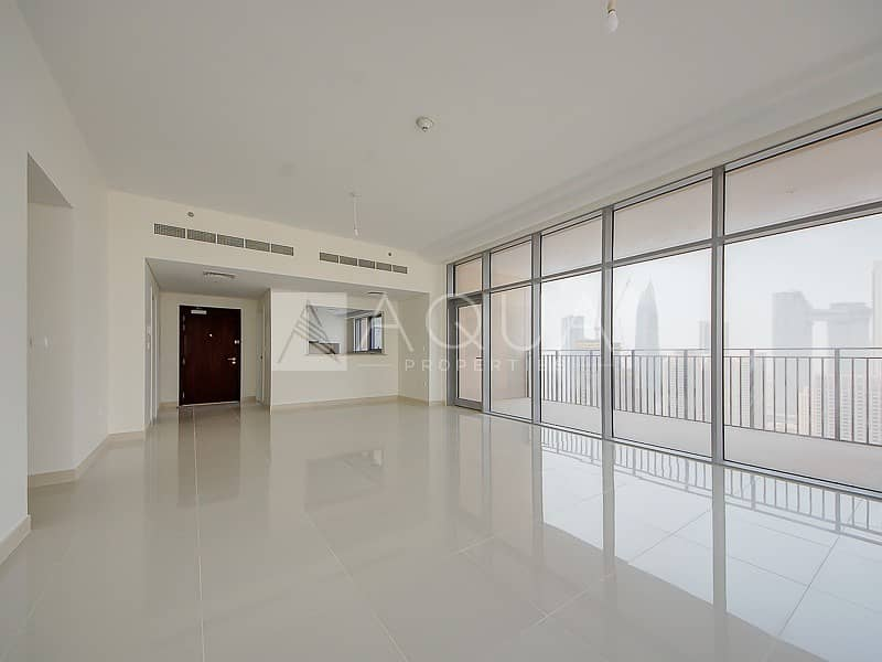 2 Square Layout | Burj Khalifa view  | Rented