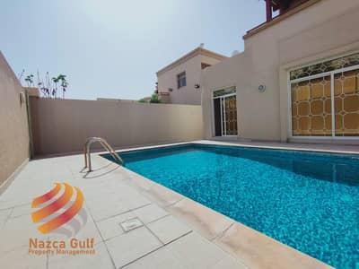 فیلا 5 غرف نوم للايجار في حدائق الجولف في الراحة، أبوظبي - Prestigious 5 Bedroom Villa with Light-fill Interiors