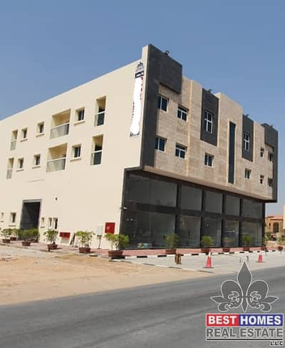 New Building G+2 with 24 Apartments and 5 Shops all Rented