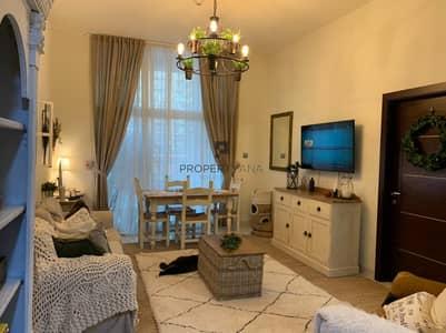 1 Bedroom Apartment for Rent in Dubai Studio City, Dubai - Unfurnished Corner unit |Garden view| Large Balcony