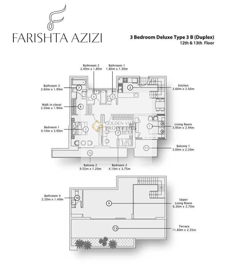 2 Luxyry Terrace Apartment | RTM | 25- Yrs Finance
