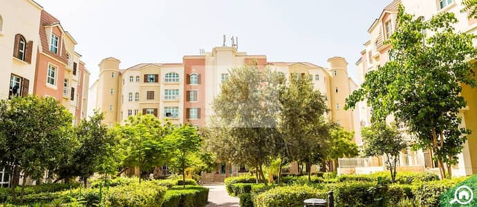 1 Bedroom Flat for Rent in Discovery Gardens, Dubai - MED CLUSTER BLD 77 | STREET 3 | 1BR FOR RENT WITH BALCONY