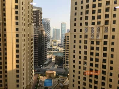 2 Bedroom Flat for Rent in Jumeirah Beach Residence (JBR), Dubai - Direct access to the Beach   and The Walk promenade