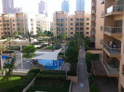 Large 1 BHK Apartment with Pool view.