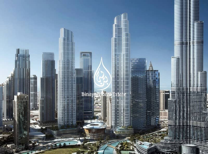 Luxury Living   Penthouse   Burj and Fountain view