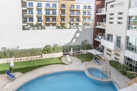 شقة 1 غرفة نوم للايجار في قرية جميرا الدائرية، دبي - Spacious and Modern Designed | Pool View