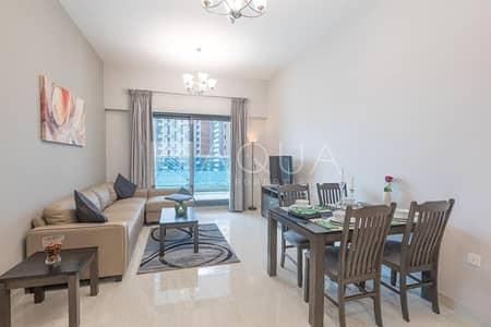 شقة 1 غرفة نوم للبيع في الخليج التجاري، دبي - Furnished 1 Bedroom | Low Service Charge