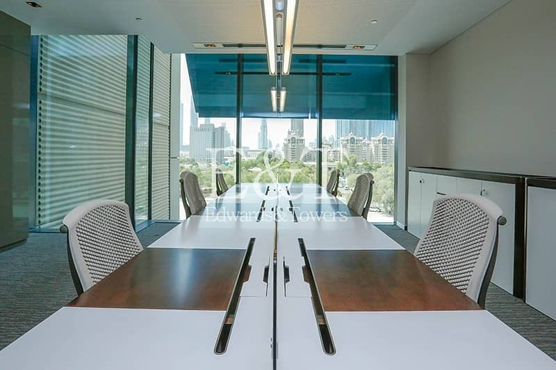 20 All Inclusive Furnished Office Index Tower