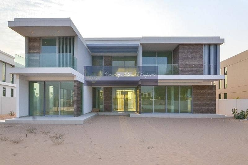 Modern Style on Golf Course   Large Plot