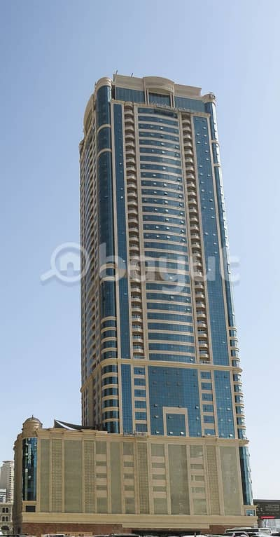 1 Bedroom Apartment for Rent in Al Qasba, Sharjah - Brand New 1BHK in Luxury Tower - with Chiller/AC Free, NO COMMISSION, One Month FREE