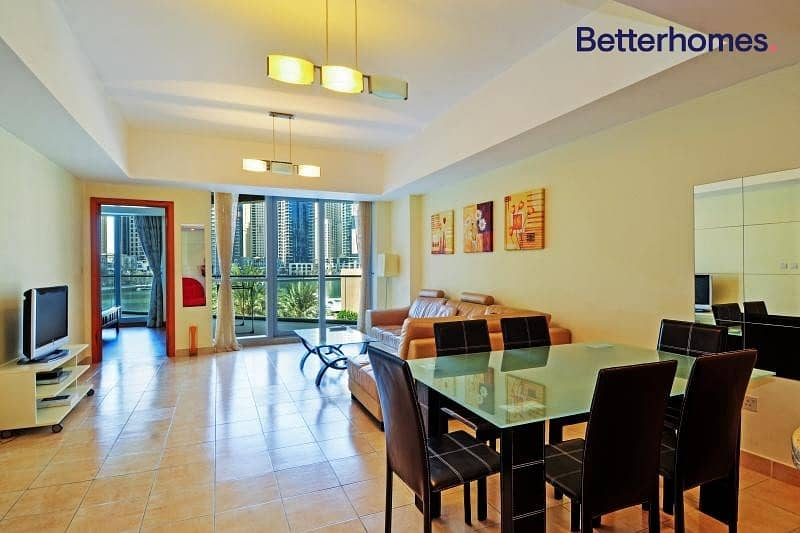 2 Lovely | Furnished | Spacious | Marina View