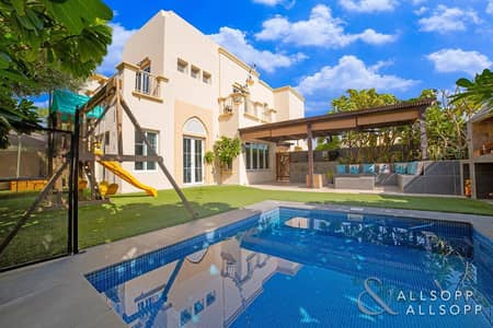 3 Bedroom Villa for Sale in The Springs, Dubai - Fully Upgraded | Private Pool | Extended