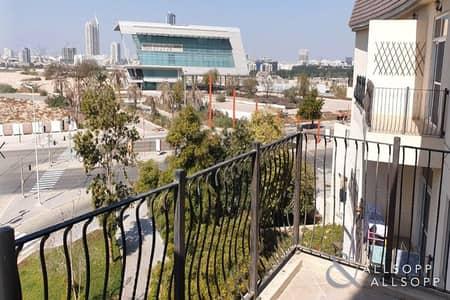 شقة 3 غرف نوم للايجار في موتور سيتي، دبي - 3 Bedrooms   Balcony   Marina Skyline View