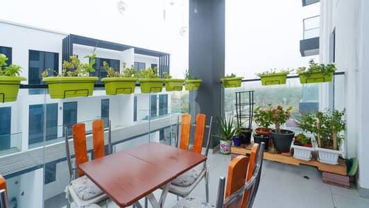 فلیٹ 1 غرفة نوم للايجار في قرية جميرا الدائرية، دبي - Beautiful Layout 1BHK with Maid AC Free