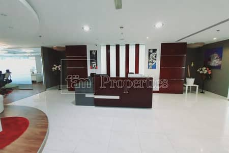 Office for Sale in Sheikh Zayed Road, Dubai - Beautiful Fitted Office facing to Museum of the Future