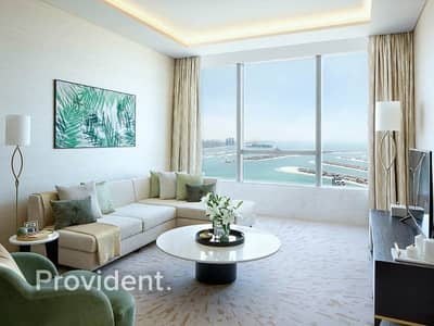 Studio for Sale in Palm Jumeirah, Dubai - Panoramic Palm View | Sunlit | Brand New Project