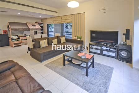 1 Bedroom Apartment for Rent in The Greens, Dubai - Ground floor | Large 1 bed | Unfurnished