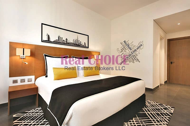 2 Studio | On A High Floor | Fully Furnished