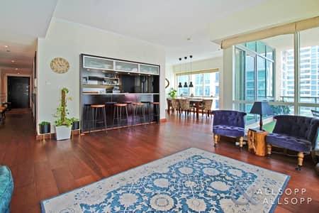 شقة 3 غرف نوم للبيع في دبي مارينا، دبي - Marina View | Terrace | 3 Bedrooms + Study