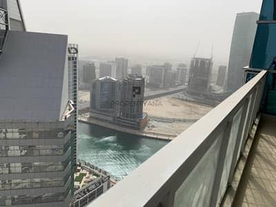 فلیٹ 1 غرفة نوم للايجار في الخليج التجاري، دبي - High Floor |Beautiful Canal View |Fitted Kitchen