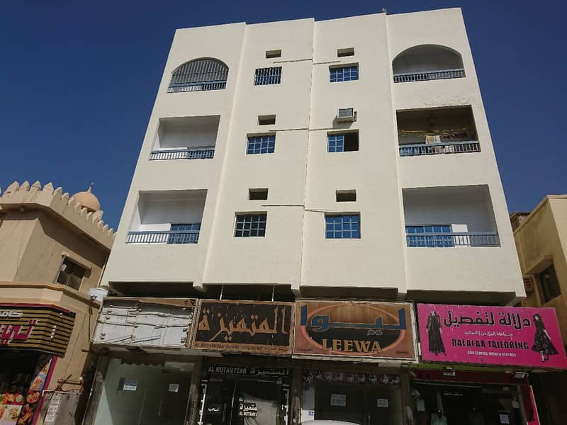 For sale a residential and commercial building in the Emirate of Ajman