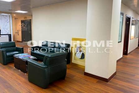 Office for Rent in Hamdan Street, Abu Dhabi - Office Spaces for Rent starting 15k @ Hamdan St. Abudhabi