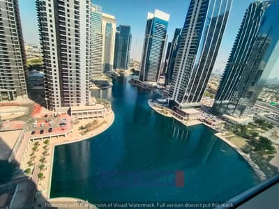 2 Bedroom Apartment for Rent in Jumeirah Lake Towers (JLT), Dubai - 2bhk | ready to move | full lake view| + store room