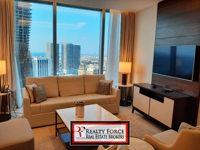 22 BRAND NEW| HIGH FLOOR | FURNISHED & SERVICED