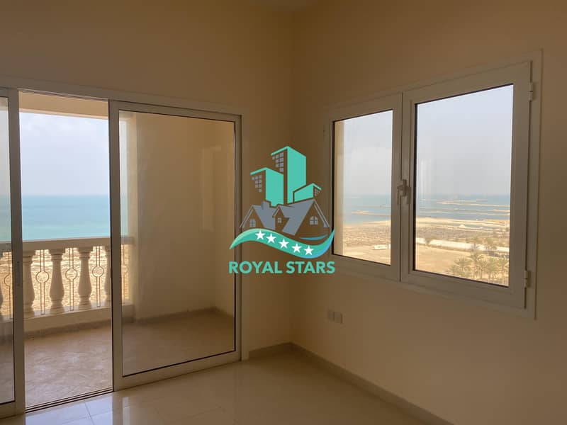 2 Amazing Sea View One Bedroom Apartment in the Royal Breeze Residence with Family Atmosphere